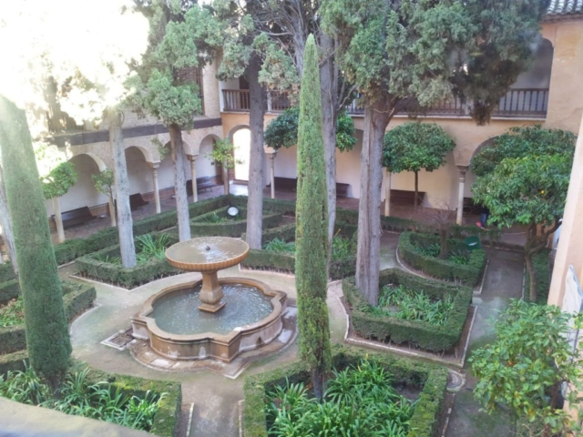 Garden of the Nasrid Palace