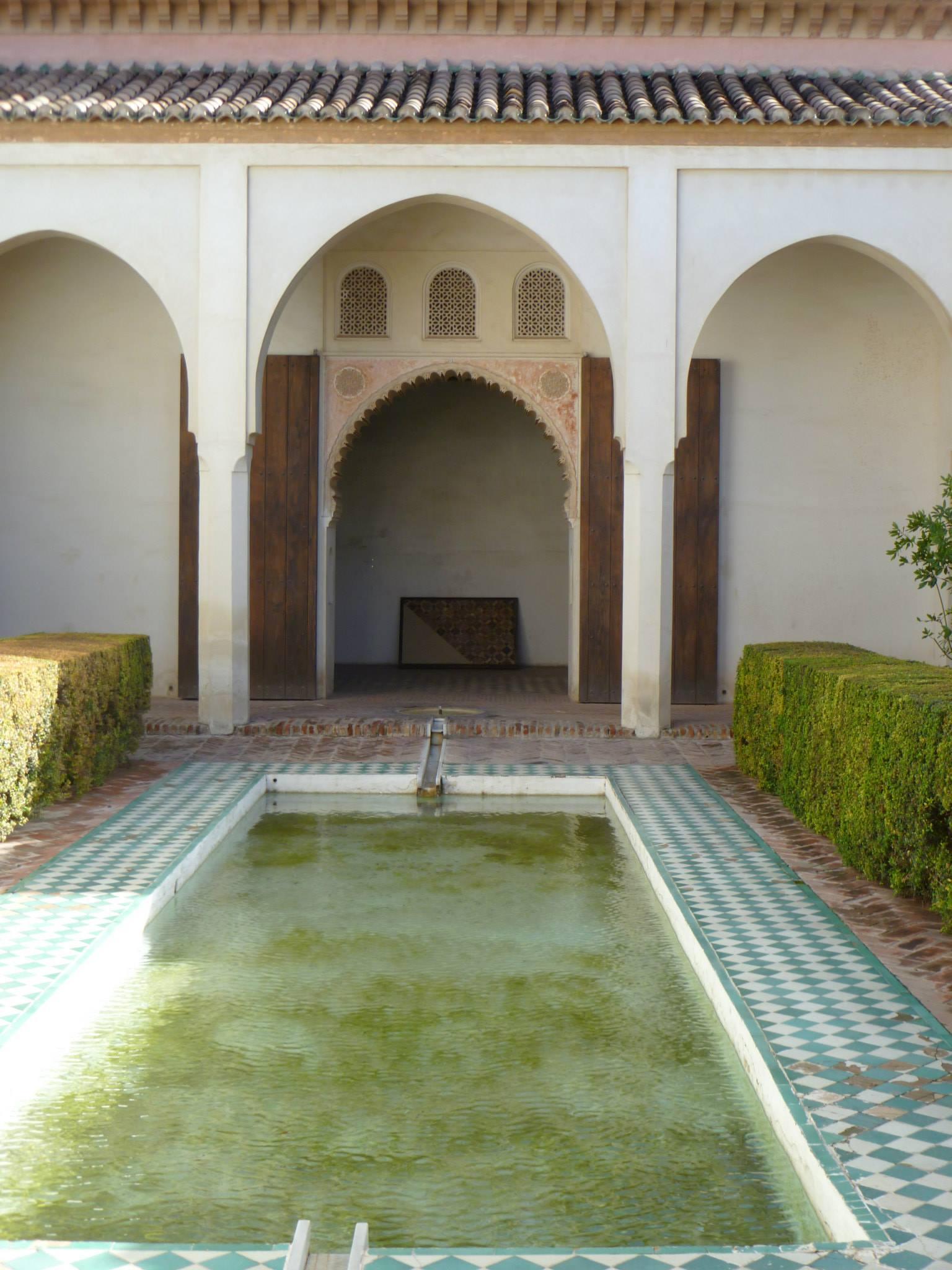 Inside the Alcazaba