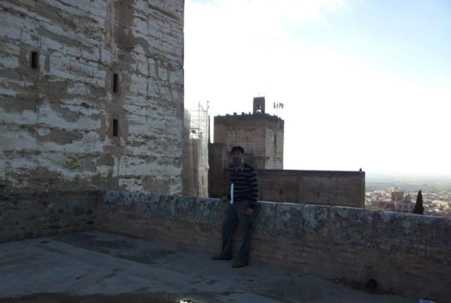 Alcazaba fort inside the Alhambra