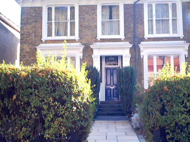 My old home on Chiswick High Road