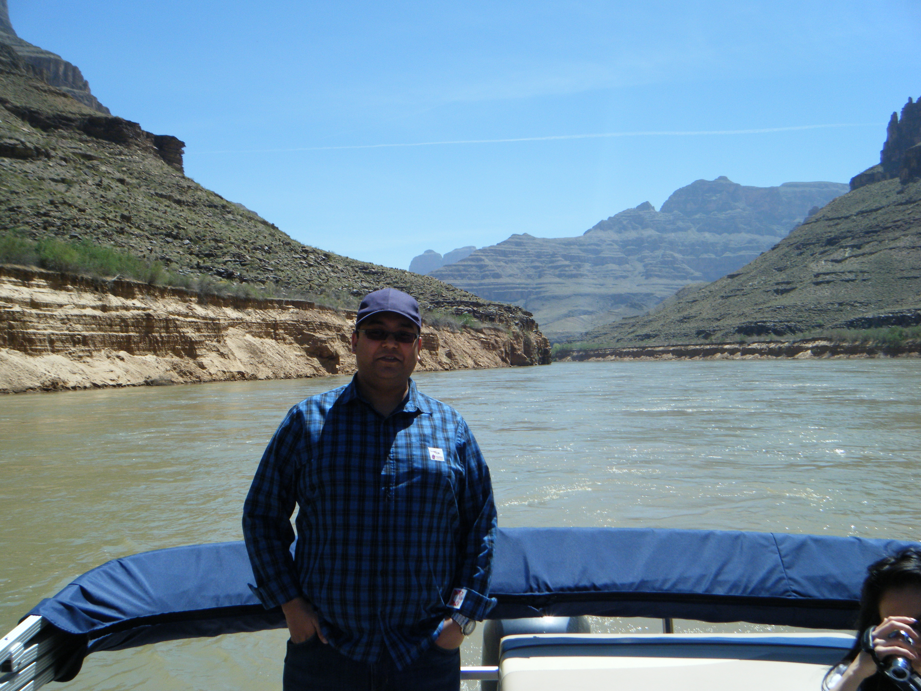 Jay on the Colorado River