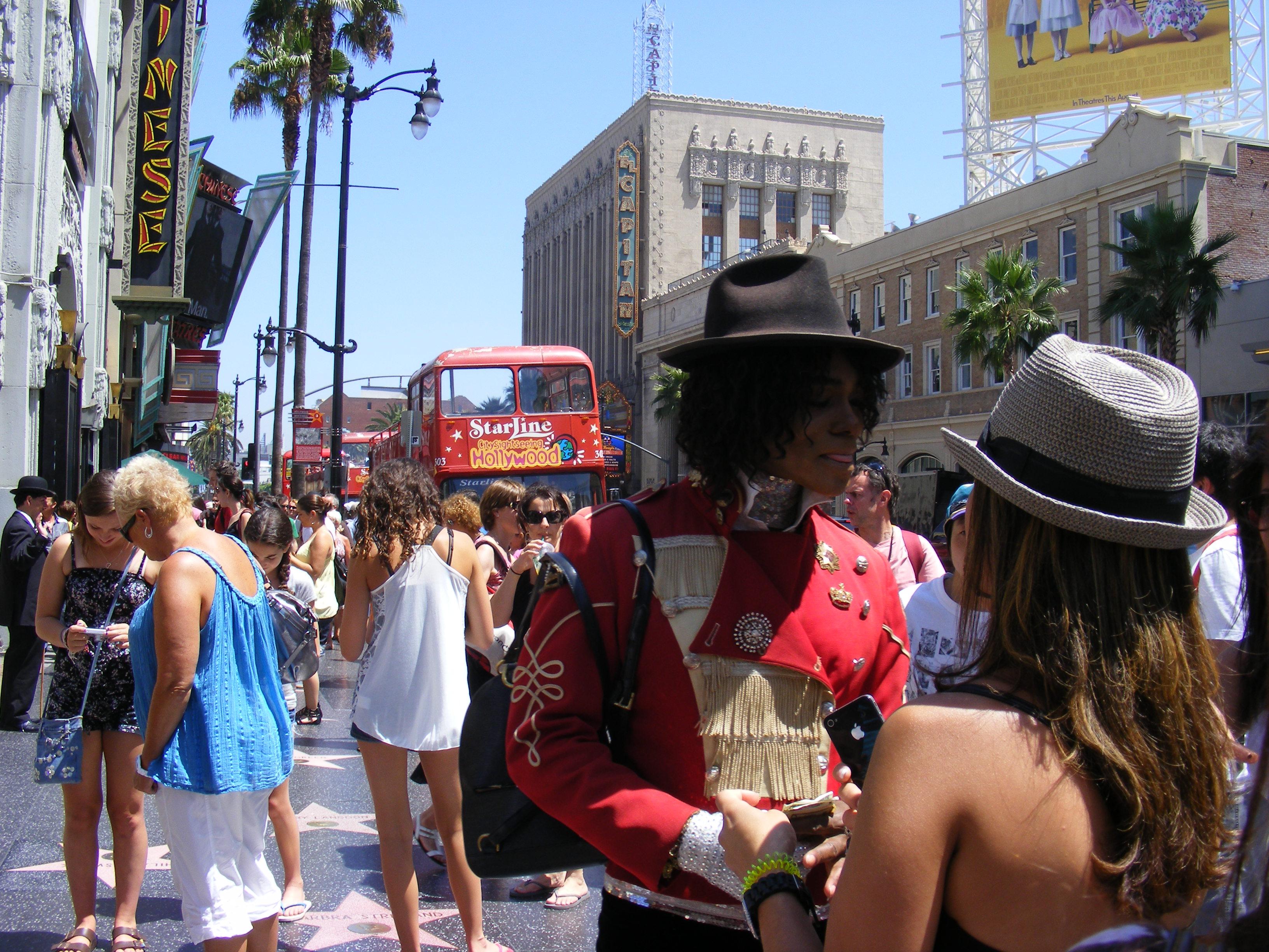 Hollywood Boulevard Walk of Fame.