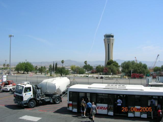 Malaga Airport 2005
