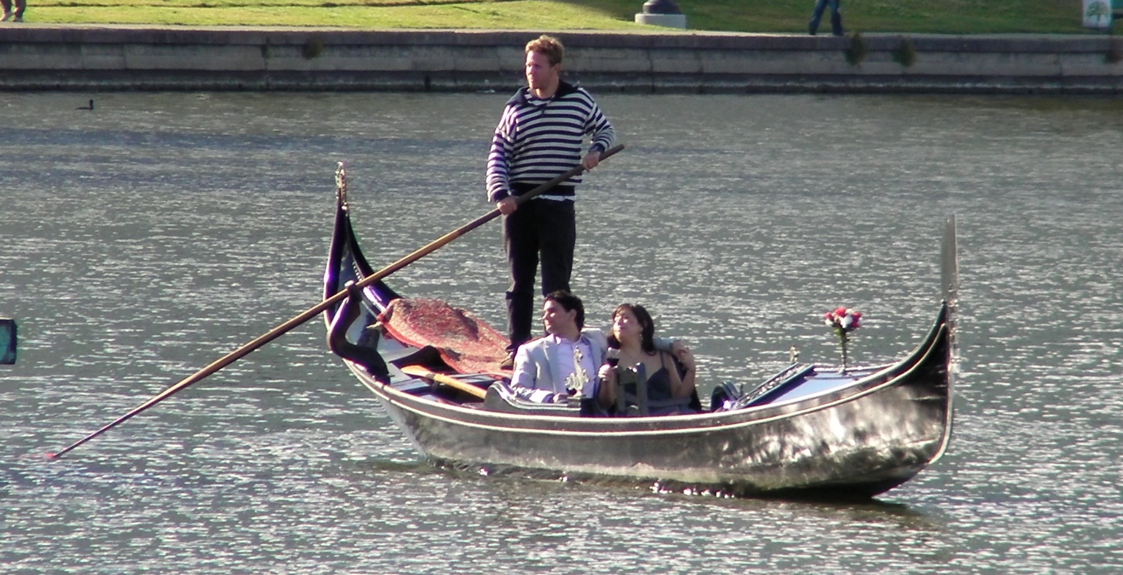 Gondola on Lake Merritt