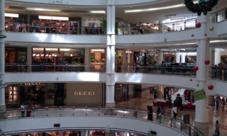 Inside the Suria KLCC Mall.