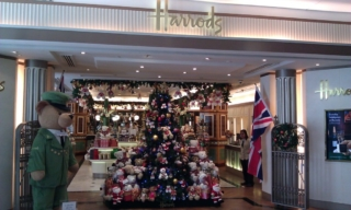 Harrods inside the Suria KLCC Mall.