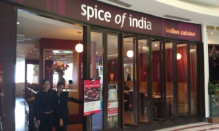 Spice of India restaurant inside the KLCC Suria Mall. WORST CURRY I HAVE EVERY TASTED!