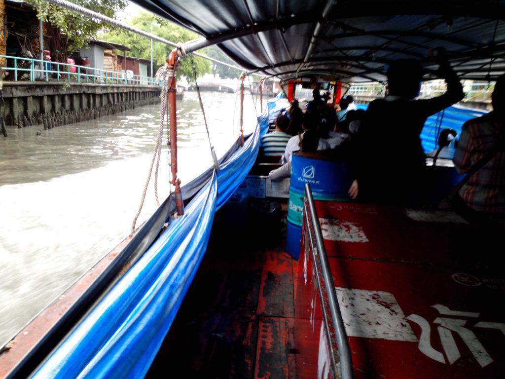 10 baht canalboat, Bangkok