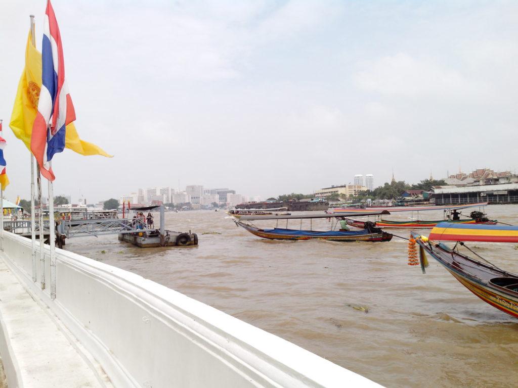 Chao Phraya near Wat Arun