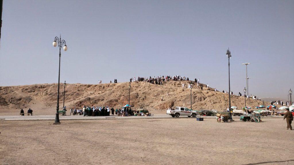 Jabal Ruma in Ouhud