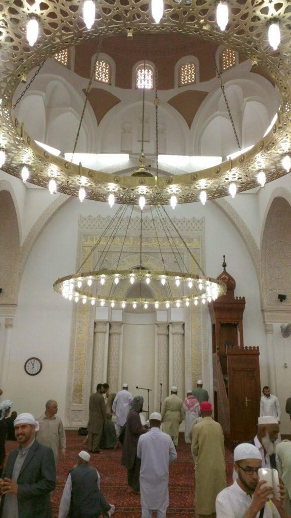 Mihrab of Masjid Qiblatain