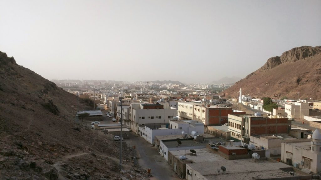 View of Madinah from Ghaar-e-Ouhud