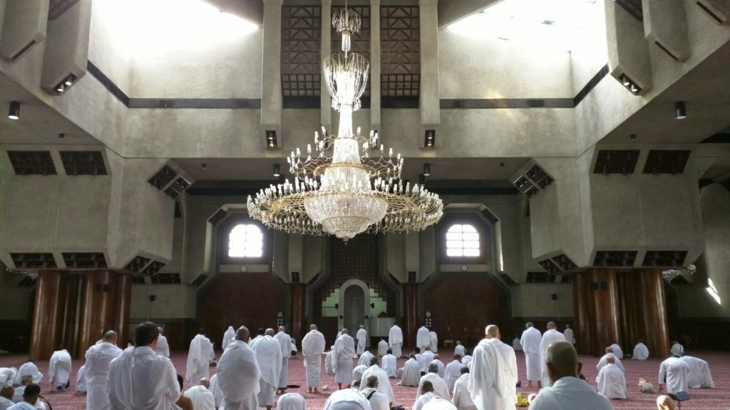 Masjid Aisha in Tan'eem