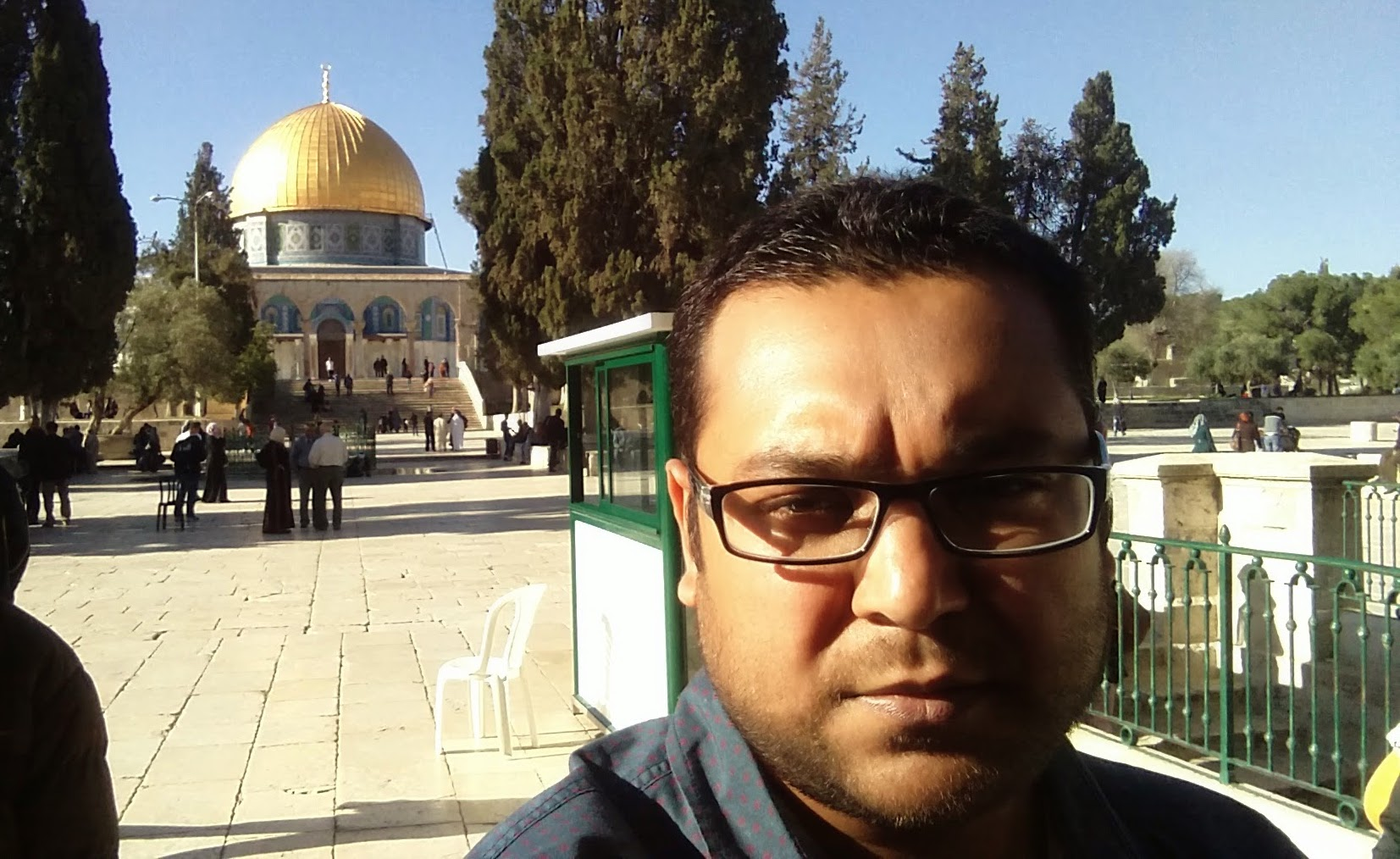 Masjid al Aqsa after Zuhr.