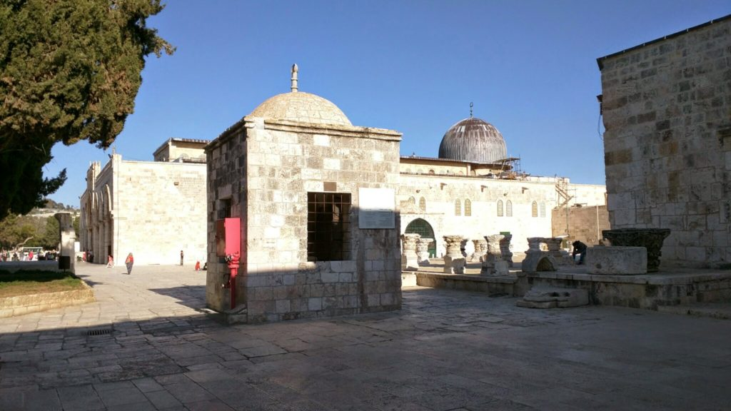 Masjid al Aqsa.