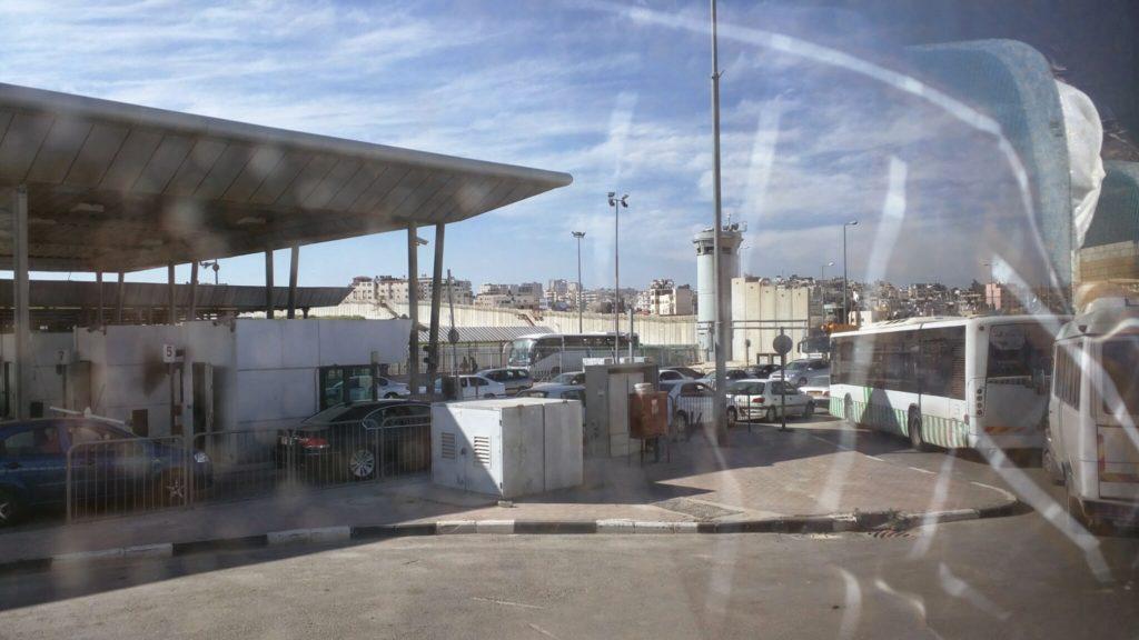 Israeli military checkpoint