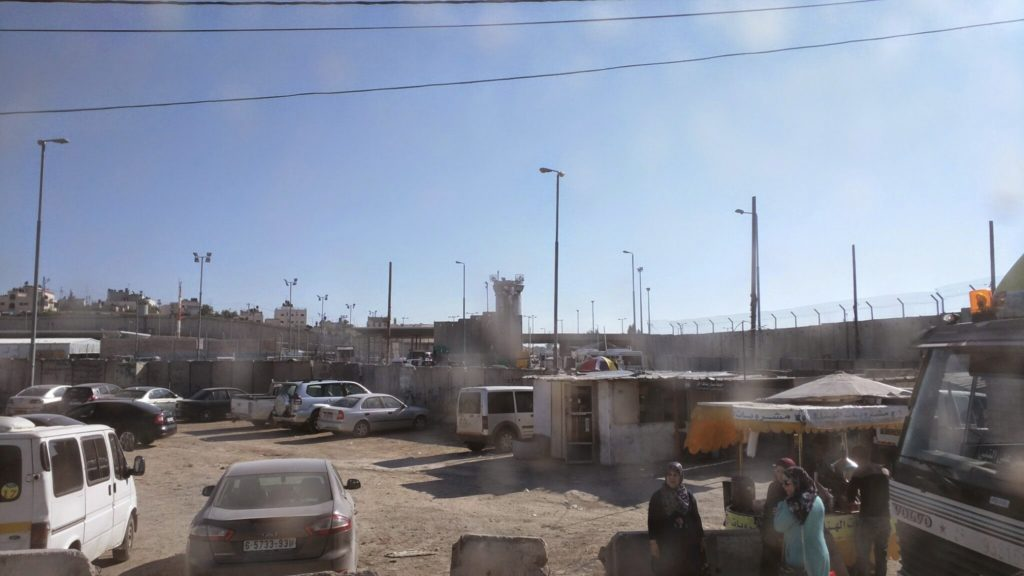 Israeli Army military checkpoint