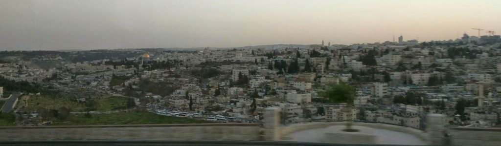 Jerusalem from above