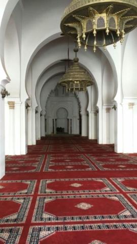 Inside Koutoubia Masjid