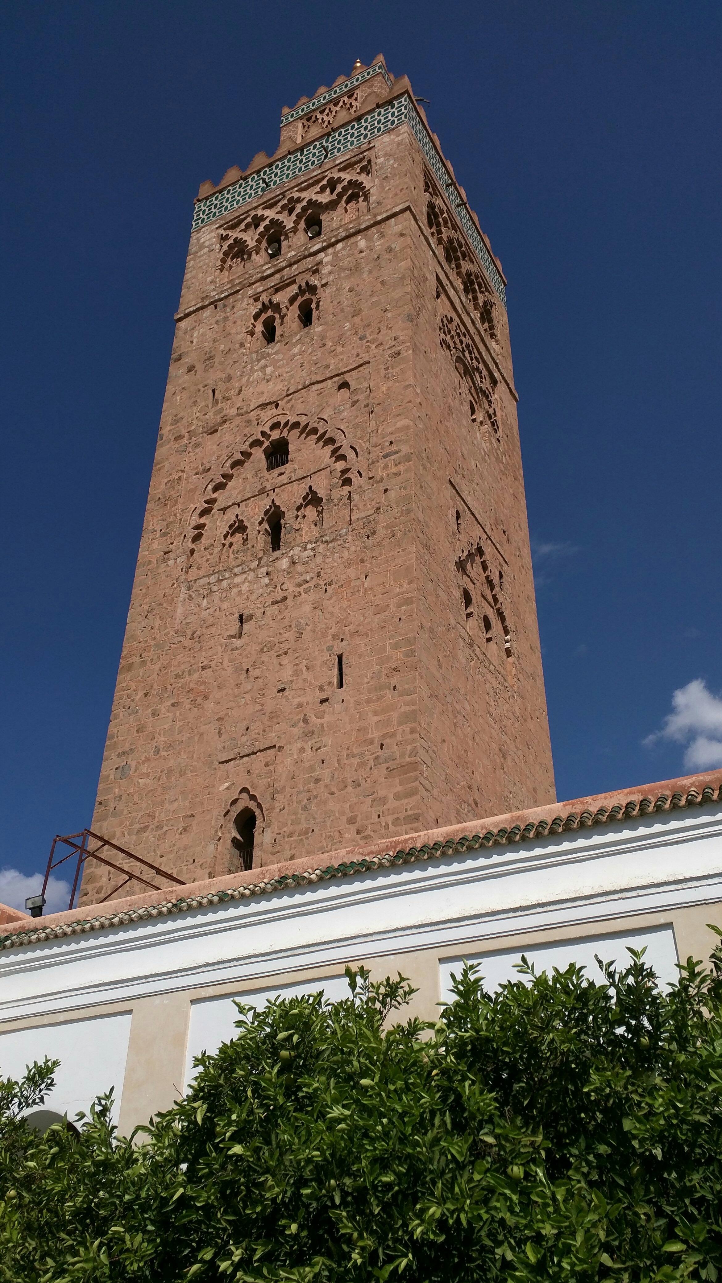 Minaret of Koutoubia Masjid