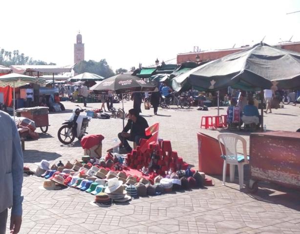 Djemaa El-Fna Square.