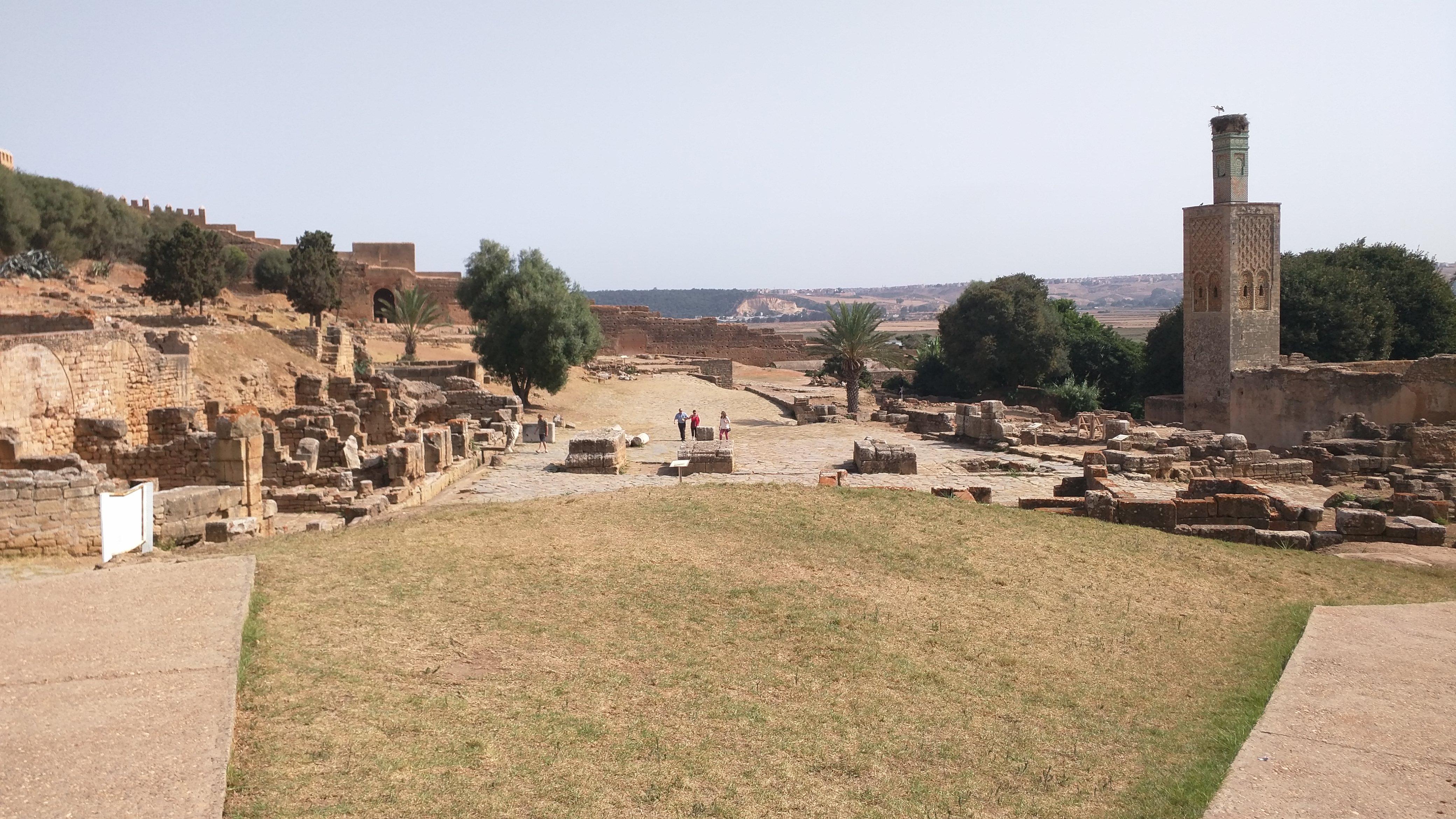 Chellah Necropolis