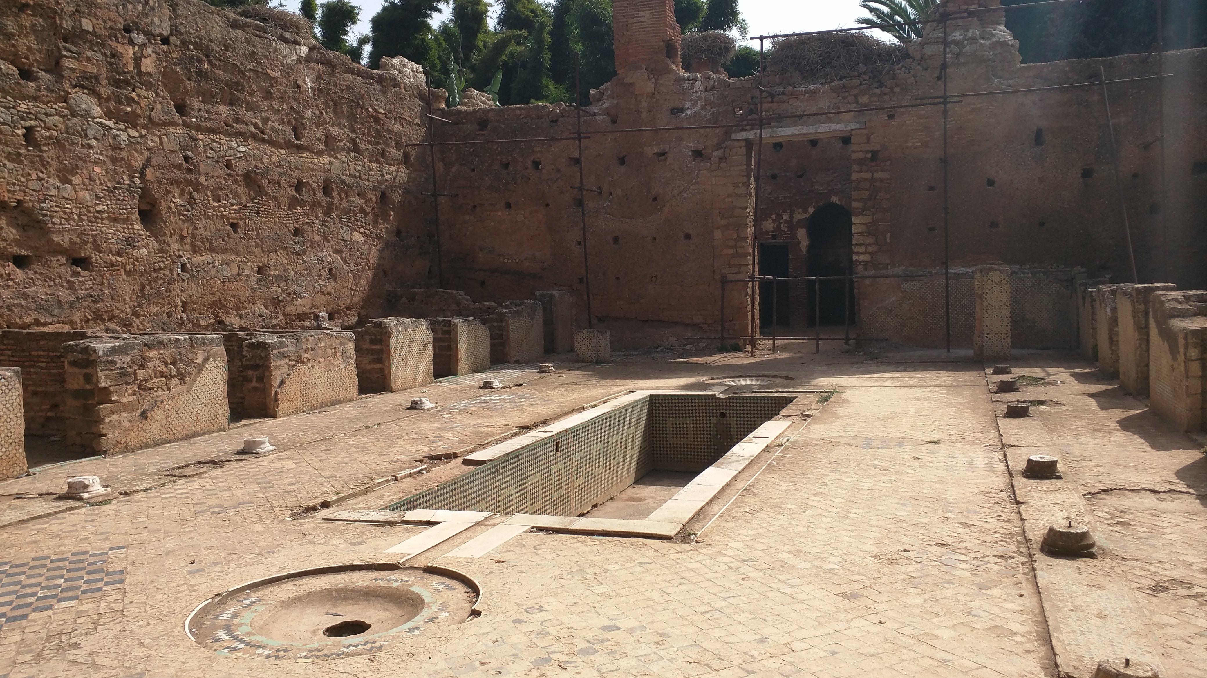 The Madrassah, Chellah Necropolis