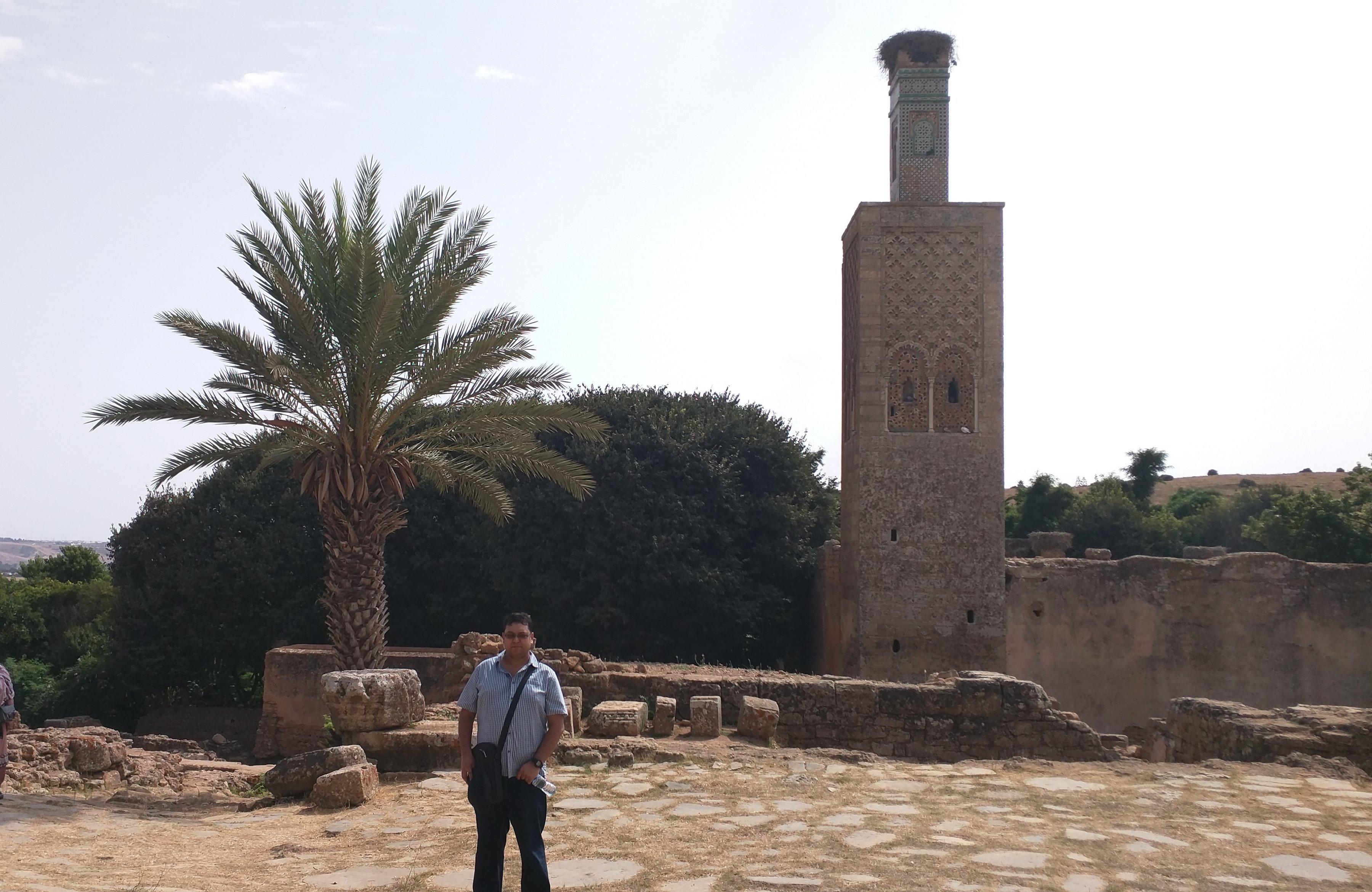 La mosquée d'Abu Yusuf Yaqub, Chellah Necropolis