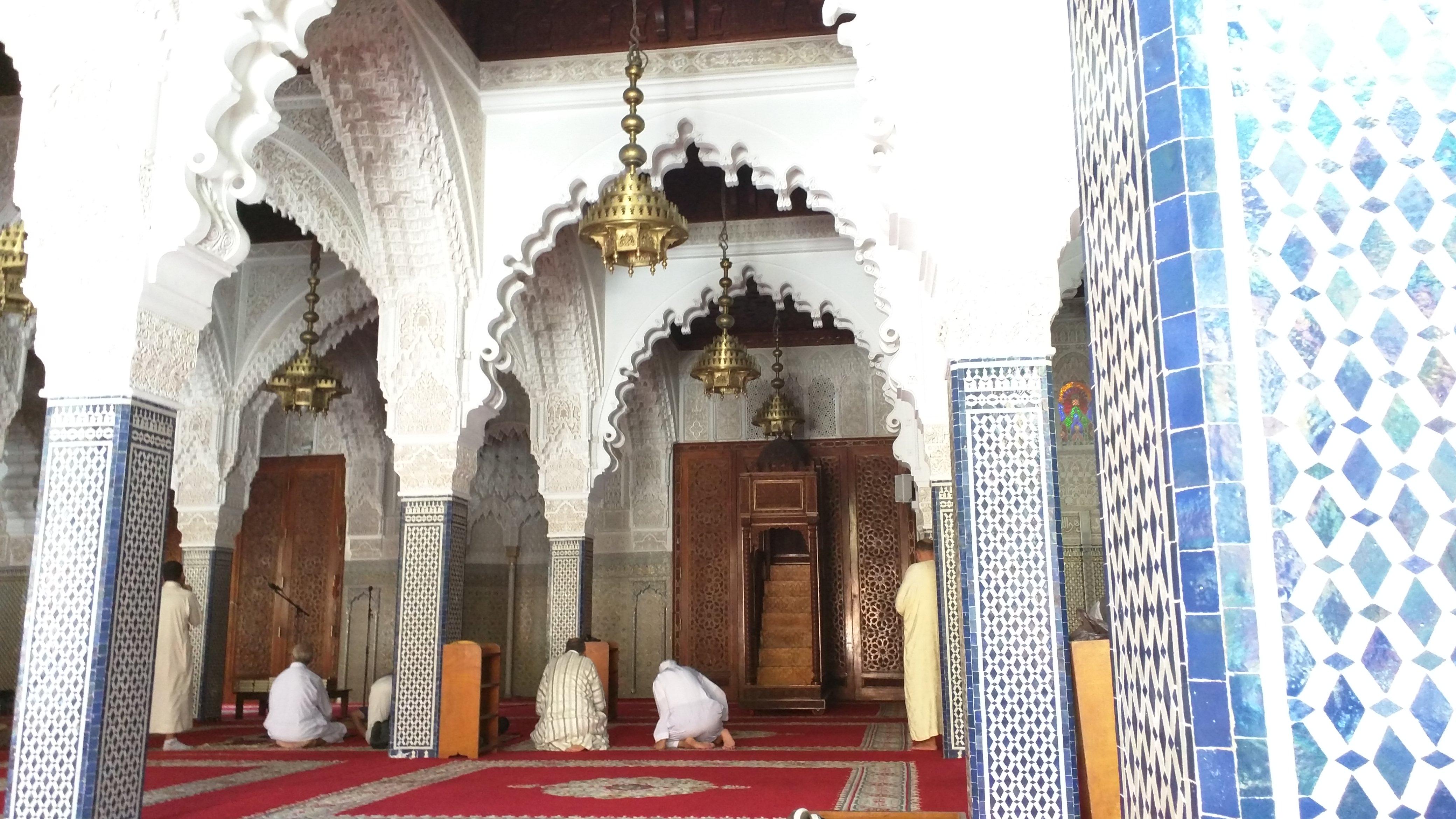 Inside Masjid Hassan