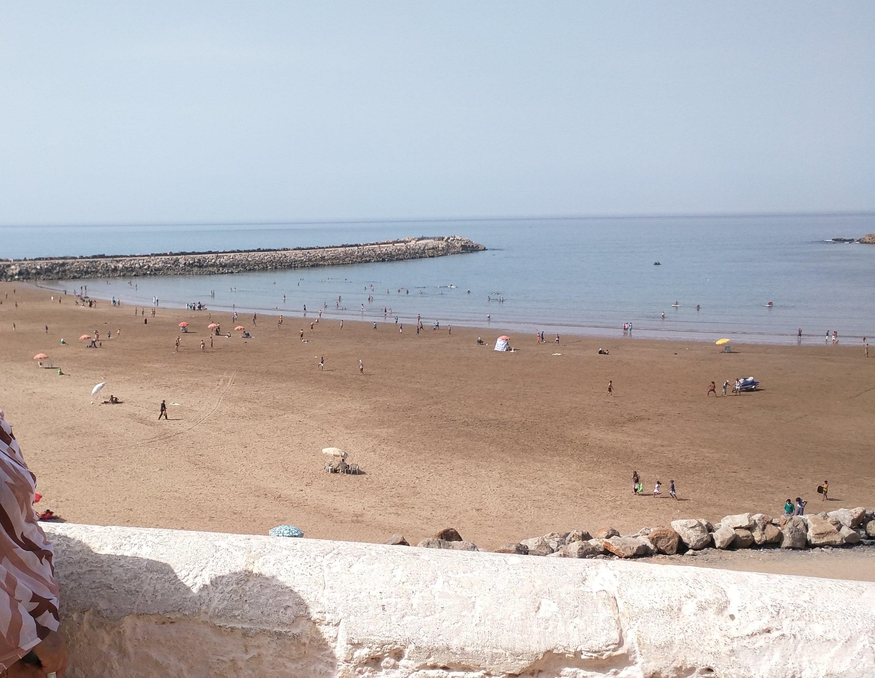 Plage de Rabat (Rabat beach)