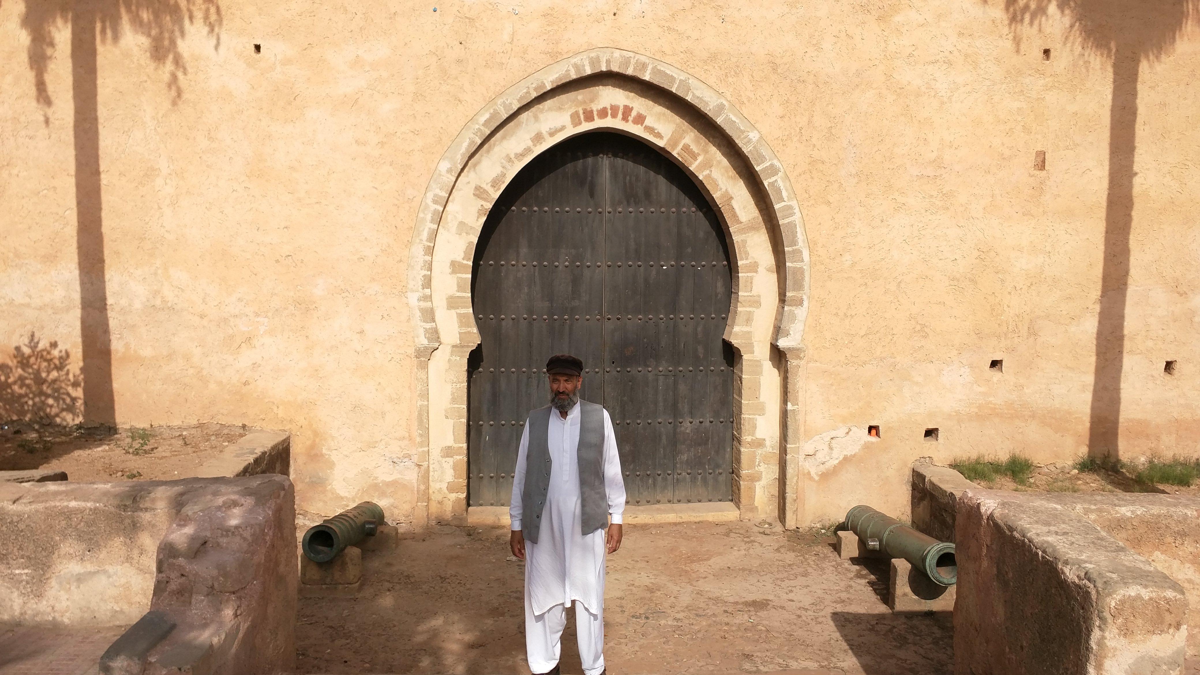 Outside Museum des Oudayas