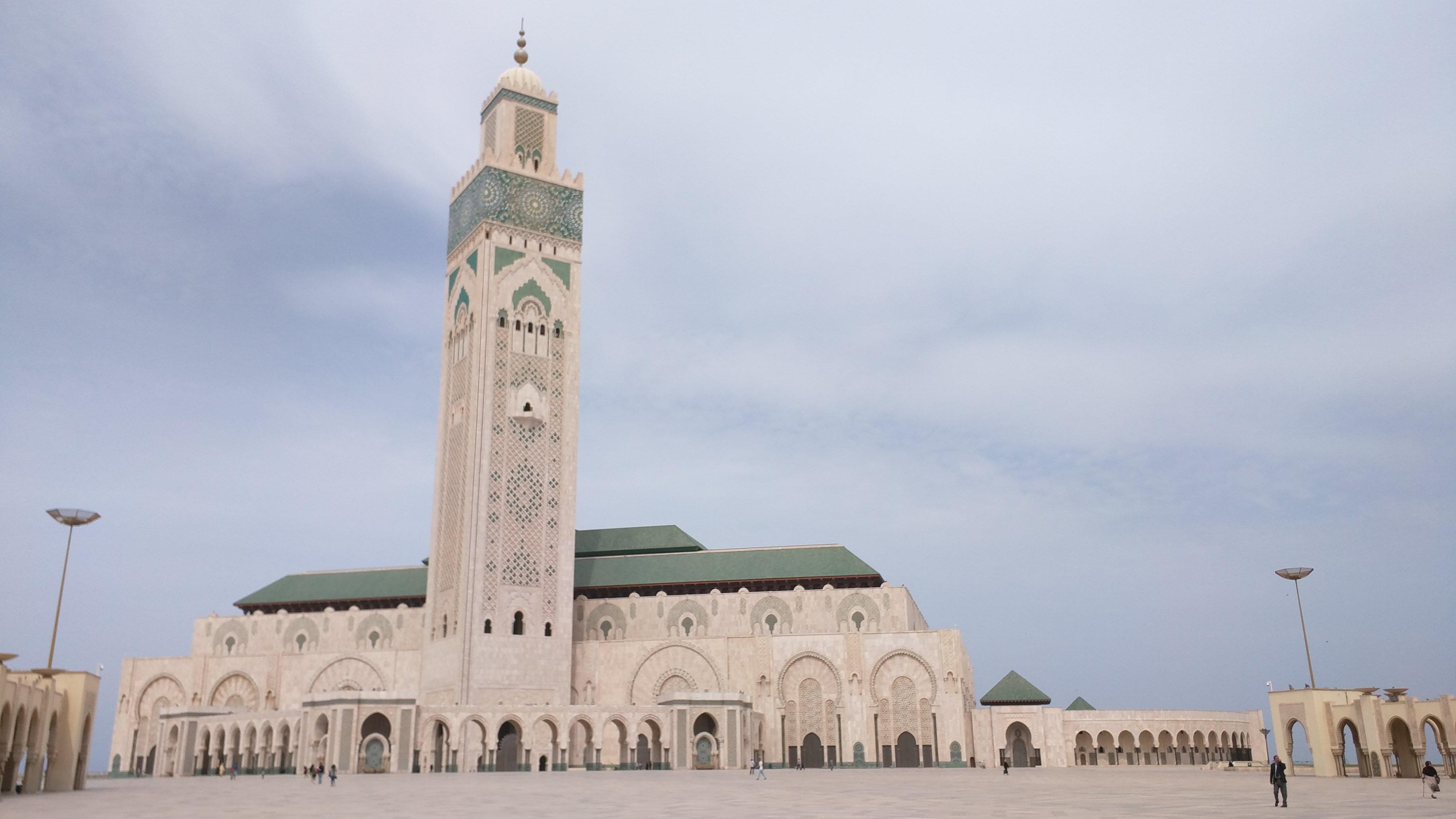 Masjid Hassan II in Casablanca