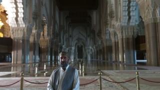 Inside Masjid Hassan II