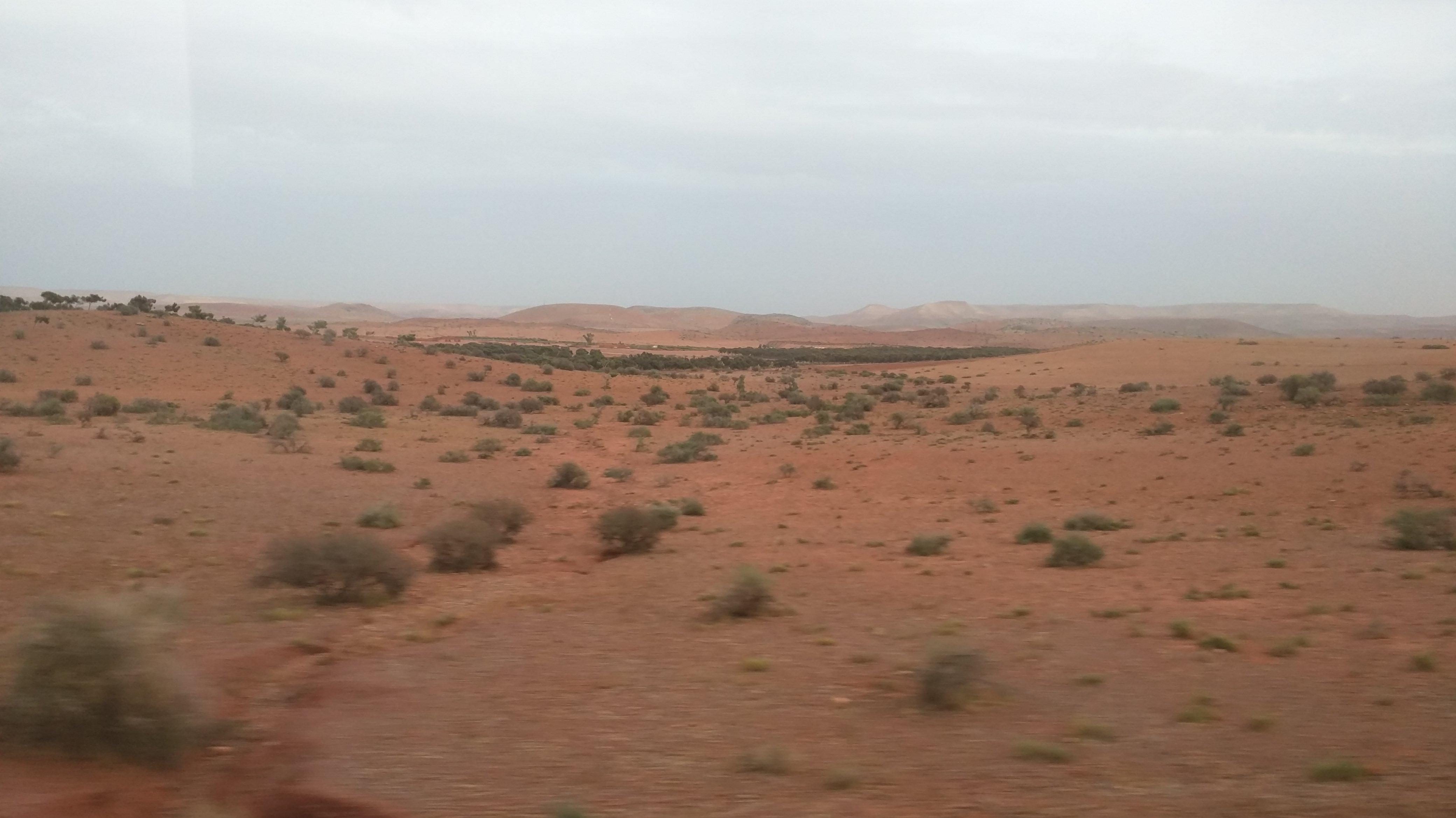 Desert outside Casablanca