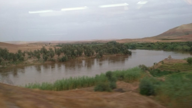 The River Oued Oum Riba