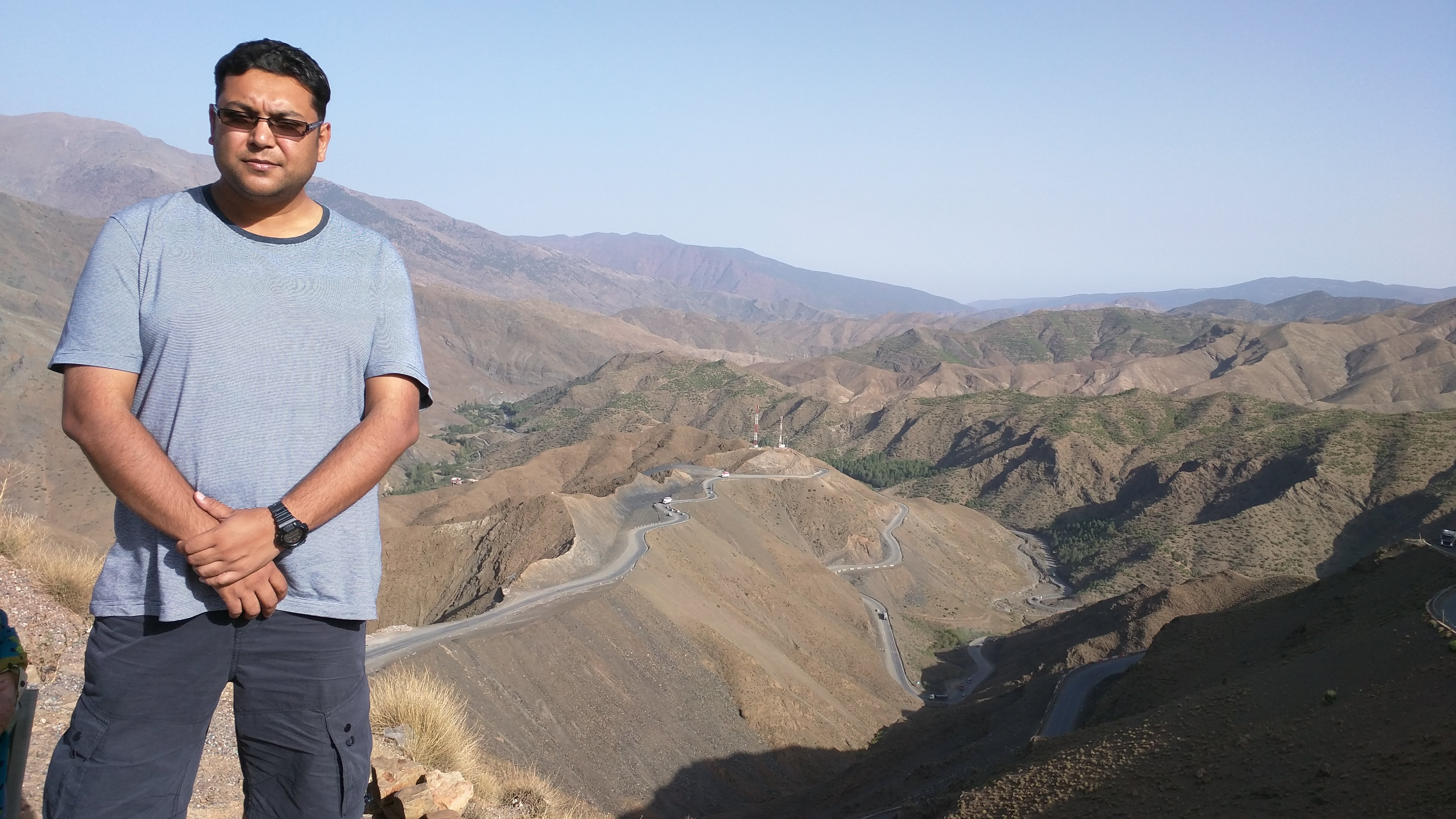 Tizi n'Tichka - the highest mountain pass in North Africa
