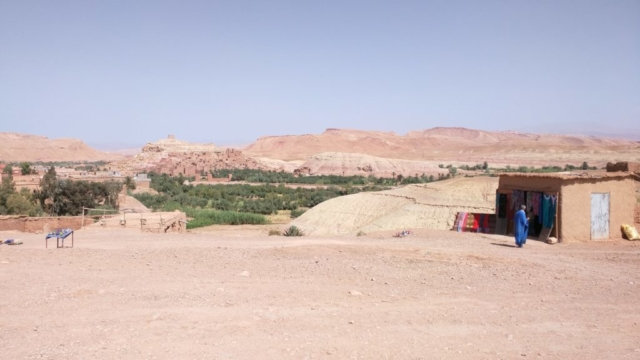 The fortified old city of Aït Benhaddou