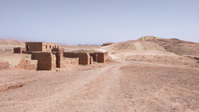 Little Berber village on the outskirts of Aït Benhaddou.