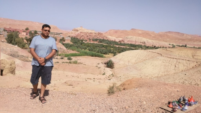 The fortified old city of Aït Benhaddou.