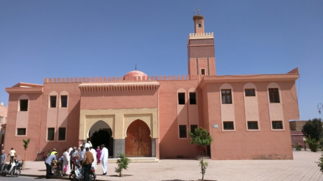 Main masjid in Ouarzazate