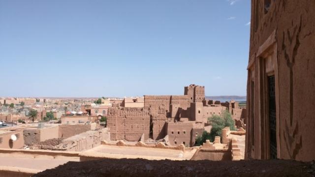 Taourirt Kasbah in Ouarzazate.