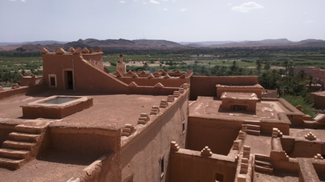 View from Taourirt Kasbah