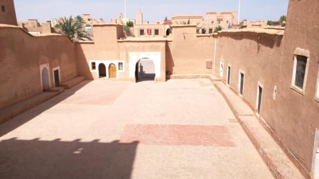 Taourirt Kasbah courtyard