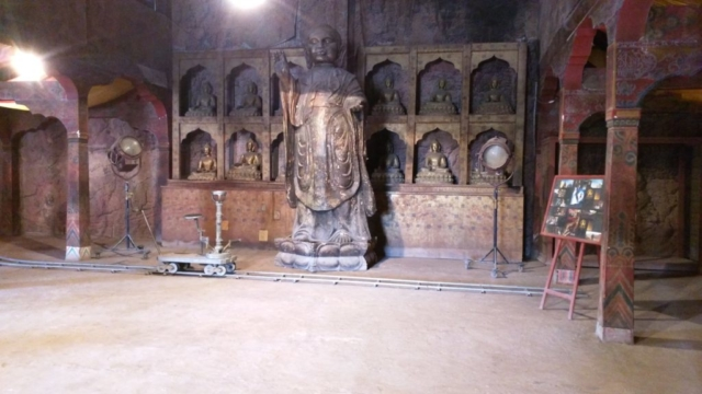 This was a set from the movie Kundun.