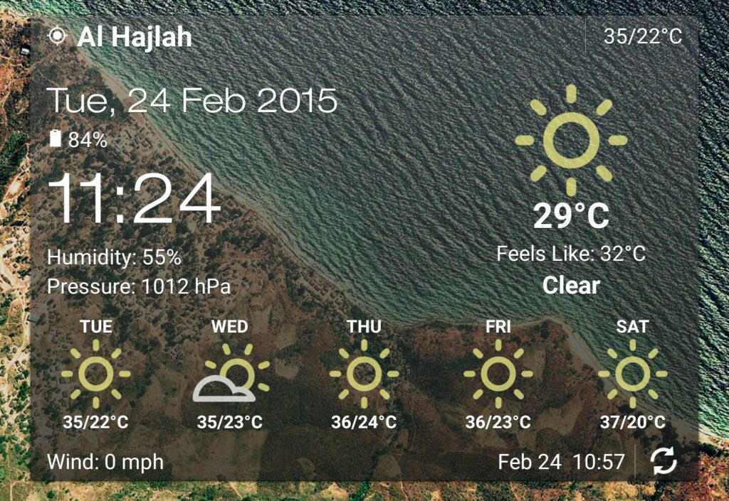 Makkah weather forecast
