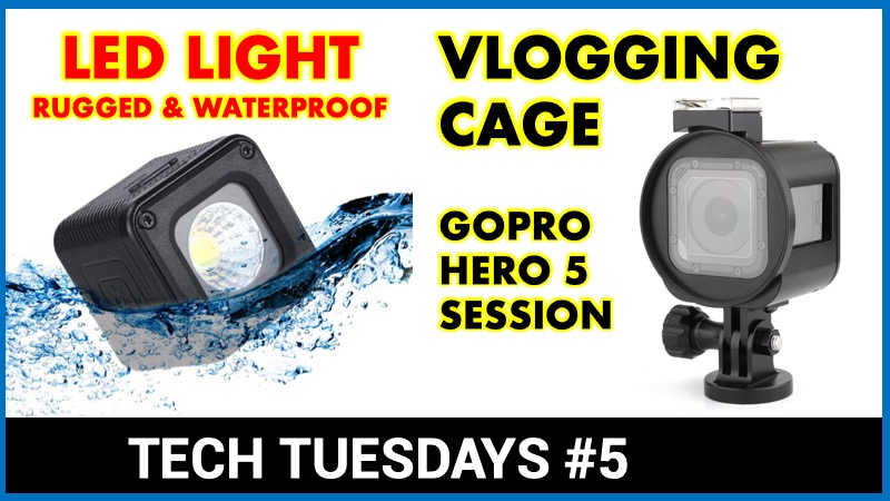 Ulanzi L1 light Soonsun GoPro Session cage