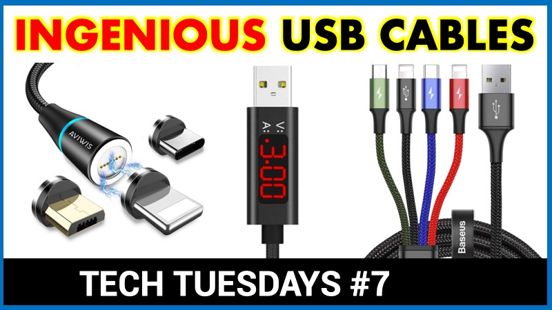 Ingenious USB cables