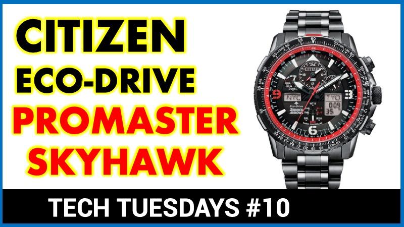 Citizen Skyhawk Red Arrows Edition