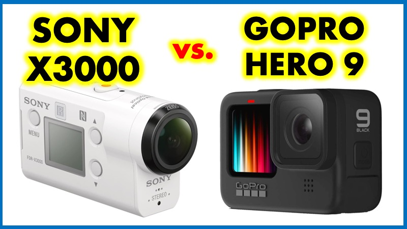 SONY X3000 vs GoPro 9
