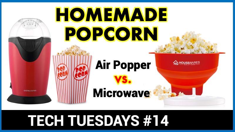 Making popcorn at home